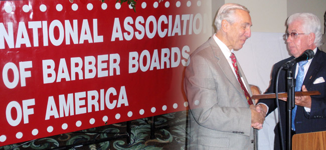 "Simon Avara's induction into the National Board of Barbers ""Hall Of Fame"""